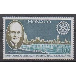 Monaco - 1980 - Nb 1229 - Rotary or Lions club
