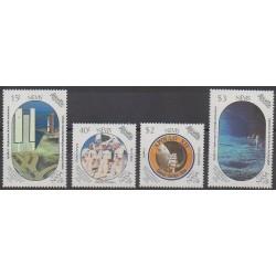 Nevis - 1989 - Nb 513/516 - Space