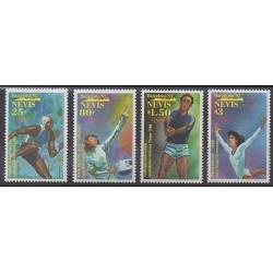 Nevis - 1992 - No 630/633 - Jeux Olympiques d'été