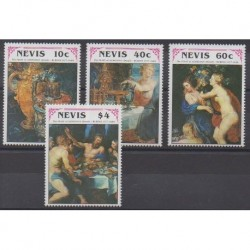 Nevis - 1992 - Nb 622/625 - Paintings