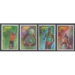 Nevis - 1992 - No 638/641 - Jeux Olympiques d'été
