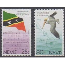 Nevis - 1993 - No 729/730 - Histoire