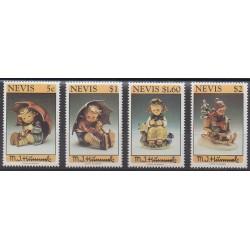Nevis - 1994 - Nb 759/762 - Art