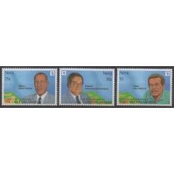 Nevis - 1994 - Nb 808/810 - Celebrities