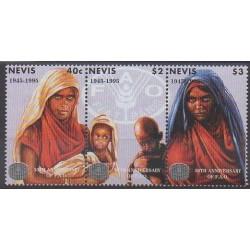 Nevis - 1995 - Nb 886/888