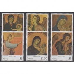 Nevis - 1995 - No 917/922 - Noël
