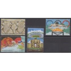 Nevis - 1996 - No 943/946 - Jeux Olympiques d'été