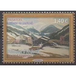 Andorre espagnol - 2019 - No 476 - Peinture