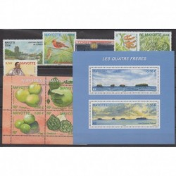 Mayotte - Complete year - 2009 - Nb 220/231