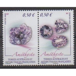 French Southern and Antarctic Territories - Post - 2020 - Améthyste - Minerals - Gems