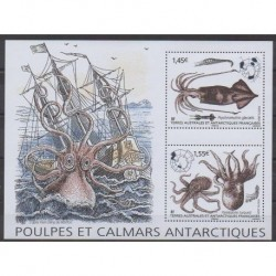 French Southern and Antarctic Lands - Blocks and sheets - 2020 - Nb F931 - Sea life