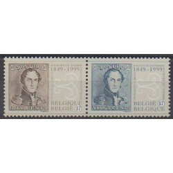 Belgique - 1999 - No 2817/2818 - Timbres sur timbres
