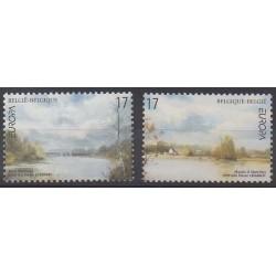 Belgium - 1999 - Nb 2815/1816 - Parks and gardens - Europa