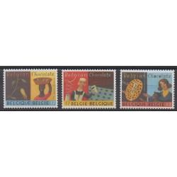 Belgique - 1999 - No 2825/2827 - Gastronomie