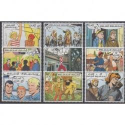 Belgium - 1999 - Nb 2841/2849 - Cartoons - Comics