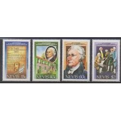 Nevis - 1987 - No 461/464 - Histoire