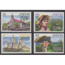 Nevis - 1987 - Nb 466/469 - Boats