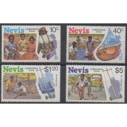 Nevis - 1987 - Nb 482/485 - Christmas