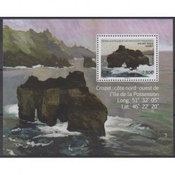 French Southern and Antarctic Lands - Blocks and sheets - 2020 - Nb F922 - Sights