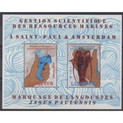 French Southern and Antarctic Lands - Blocks and sheets - 2020 - Nb F927 - Science