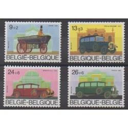 Belgium - 1986 - Nb 2232/2235 - Cars