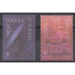 Belgique - 1988 - No 2283/2284 - Transports - Europa