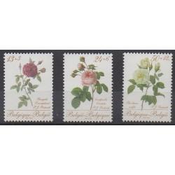 Belgium - 1988 - Nb 2280/2282 - Roses