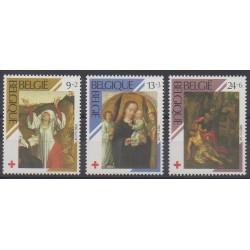 Belgium - 1989 - Nb 2312/2314 - Health - Religion