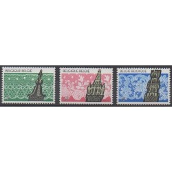 Belgique - 1989 - No 2315/2317 - Artisanat ou métiers
