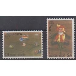 Belgium - 1989 - Nb 2323/2324 - Childhood - Europa