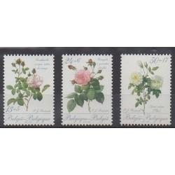 Belgium - 1989 - Nb 2318/2320 - Roses