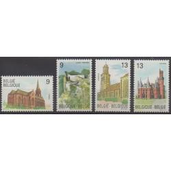 Belgique - 1989 - No 2328/2331 - Églises