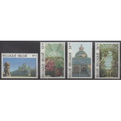 Belgium - 1989 - Nb 2340/2343 - Parks and gardens