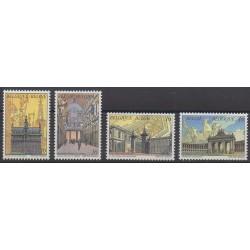 Belgium - 1996 - Nb 2642/2645 - Monuments