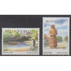 Belgium - 1996 - Nb 2640/2641 - Tourism