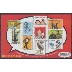 Belgium - 2012 - Nb 4238/4247 - Cartoons - Comics