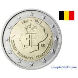 2 euro commémorative - Belgique - 2012 - 75 ans du concours musical de la Reine Elisabeth de Belgique