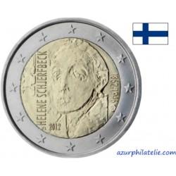 2 euro commémorative - Finlande - 2012 - 150ème anniversaire de la naissance d'Helene Schjerfbeck