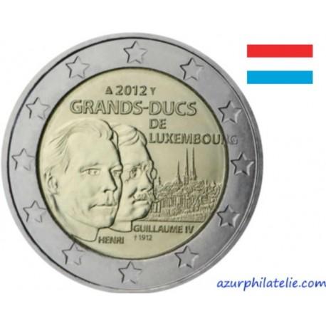 Luxembourg - 2012 - Henri et Guillaume IV