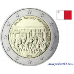 Malte - 2012 - 1887 : année de la Majorité au Conseil des Représentants