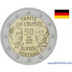 Allemagne - 2013 - Traité de l'Élysée