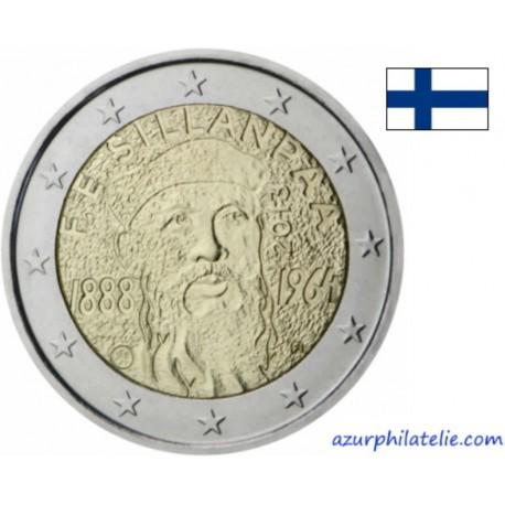 Finlande - 2013 - 125ème anniversaire de la naissance de F.E.Sillanpaa