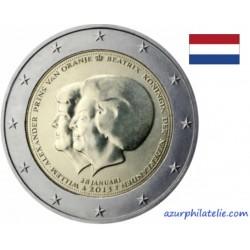 Pays-Bas - 2013 - Beatrix et Guillaume IV - Passation de pouvoir