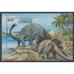 Congo (Republic of) - 1993 - Nb BF59C - Prehistoric animals