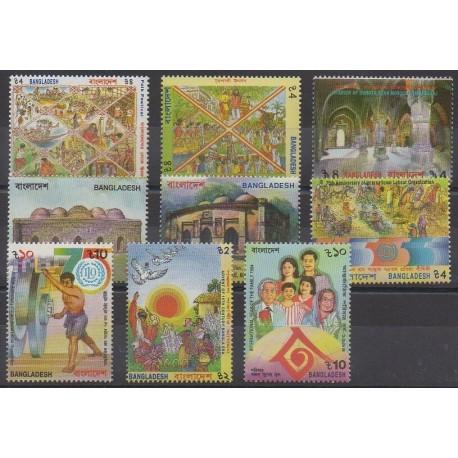 Bangladesh - 1994 - Nb 444/451A