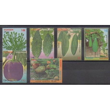 Bangladesh - 1994 - Nb 472/477 - Fruits or vegetables