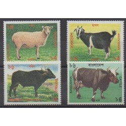 Bangladesh - 1997 - Nb 546/549 - Mamals