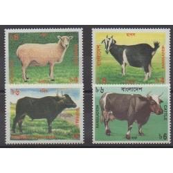 Bangladesh - 1997 - No 546/549 - Mammifères