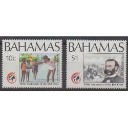 Bahamas - 1989 - Nb 689/690 - Health