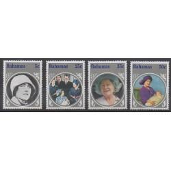 Bahamas - 1985 - No 576/579 - Royauté - Principauté
